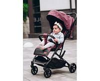 Детская прогулочная коляска. Амортизация. Подстаканник. Дождевик. CARRELLO Presto. CRL-9002 Indigo Purple