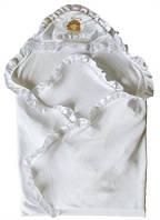 Уголок для крещения с вышивкой Ангелочек махра