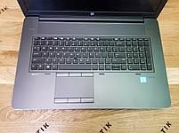 Ноутбук HP ZBook 17 G3 i7-6820HQ /16Gb/512SSD/FHD IPS, фото 2