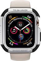 Чехол Spigen для Apple Watch (44mm) Tough Armor, Silver (062CS24478)