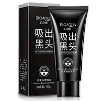 Черная маска-пленка с бамбуковым углем от черных точек Biaqua Blackhead Mask, 60г УЦЕНКА! ПОВРЕЖДЕНА УПАКОВКА!