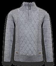 Детский пуловер для мальчика PINETTI. Италия 717083, серый,