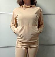 Женская толстовка бежевого цвета Le'Katrin Family Размер S, L, XL