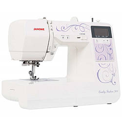 Огляд комп'ютерної швейної машини Janome Quality Fashion 7900