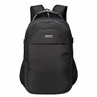 Городской черный унисекс рюкзак для ноутбука с USB разъемом для зарядки стильный рюкзак зарядка