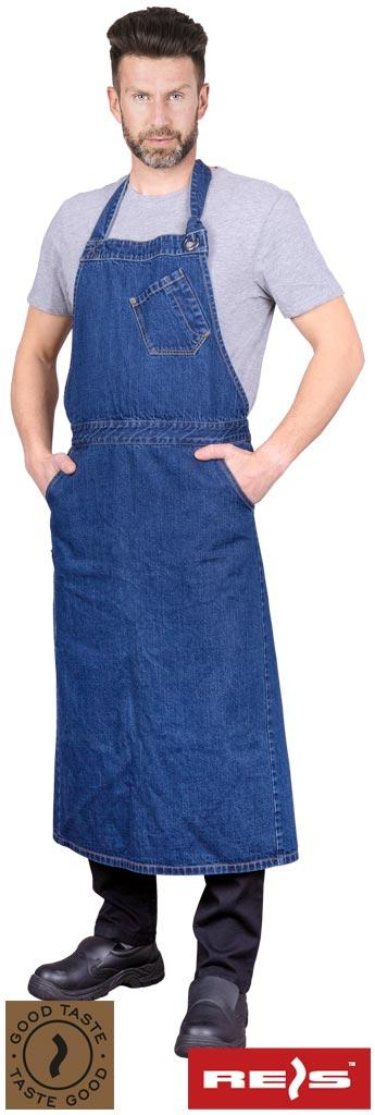 Фартух захисний з джинсової тканини FORTE_90X115 G 90X115