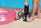Ручной насос Intex насос для накачивания всех видов надувных изделий, фото 8