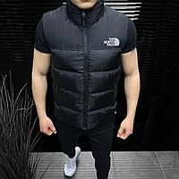 Мужская жилетка The North Face безрукавка спортивная черная