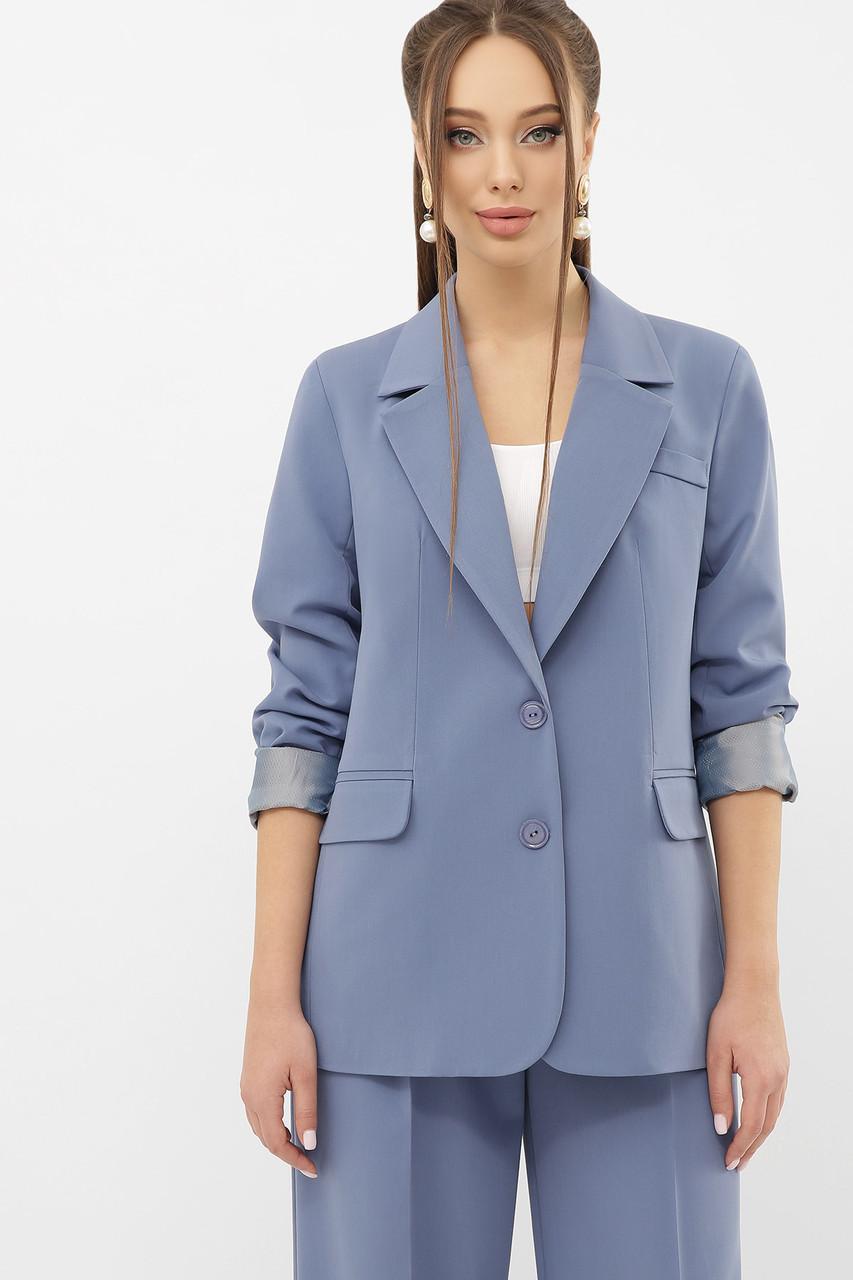 Класичний піджак жіночий модель 2021 року розміри 42-50