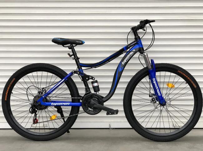 """Горный Велосипед TopRider 26 дюймов """"910"""" Размер рамы 17  синий"""