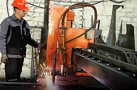 Плазмове різання і розкрій чорного металу