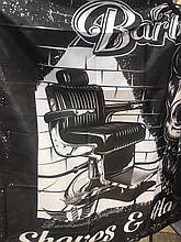 Пеньюар перукарський BarberShop крісло