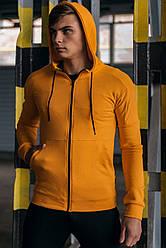Кофта мужская на молнии оранжевая Intruder 'Cosmo'