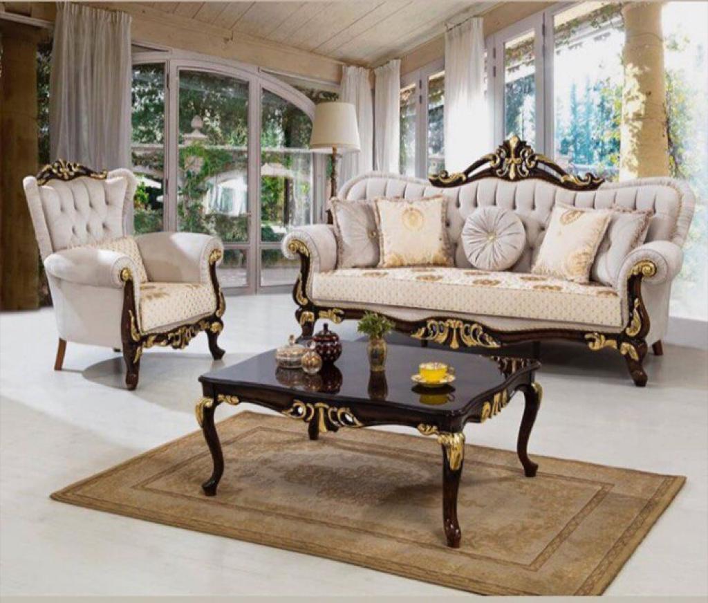 Комплект диван + 2 крісла + стіл Cavalli (туреччина)