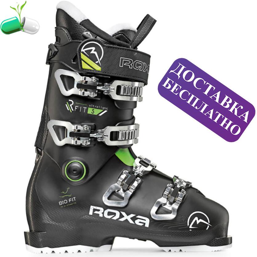 Лижні черевики ROXA RFit S (black / black / green)