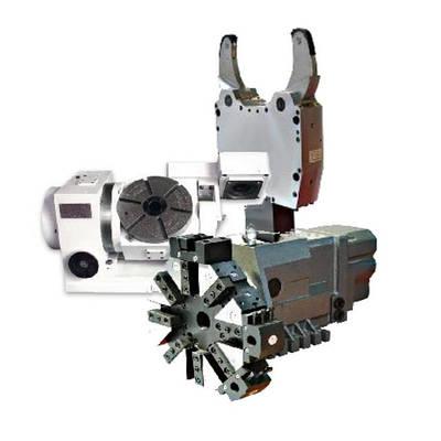 Оснастка и принадлежности (головки резцедержательные, люнеты, поворотные столы) для станков с УЧПУ
