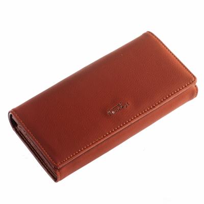Кошелек ClassicSeries коричневый, эко кожа, 712 brown