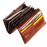 Кошелек ClassicSeries коричневый, эко кожа, 712 brown, фото 2