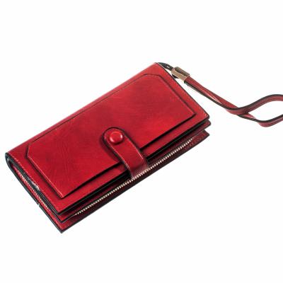 Кошелек ClassicSeries красный, эко кожа, 1020 Red