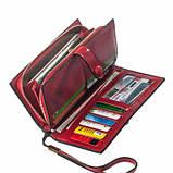 Кошелек ClassicSeries красный, эко кожа, 1020 Red, фото 2