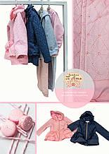 Детская ветровка для девочки Верхняя одежда для девочек Baby Band Италия 2527 Розовый весенняя осенняя