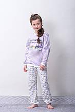 Детская пижама для девочки BRUMS Италия 163BGML002 Белый