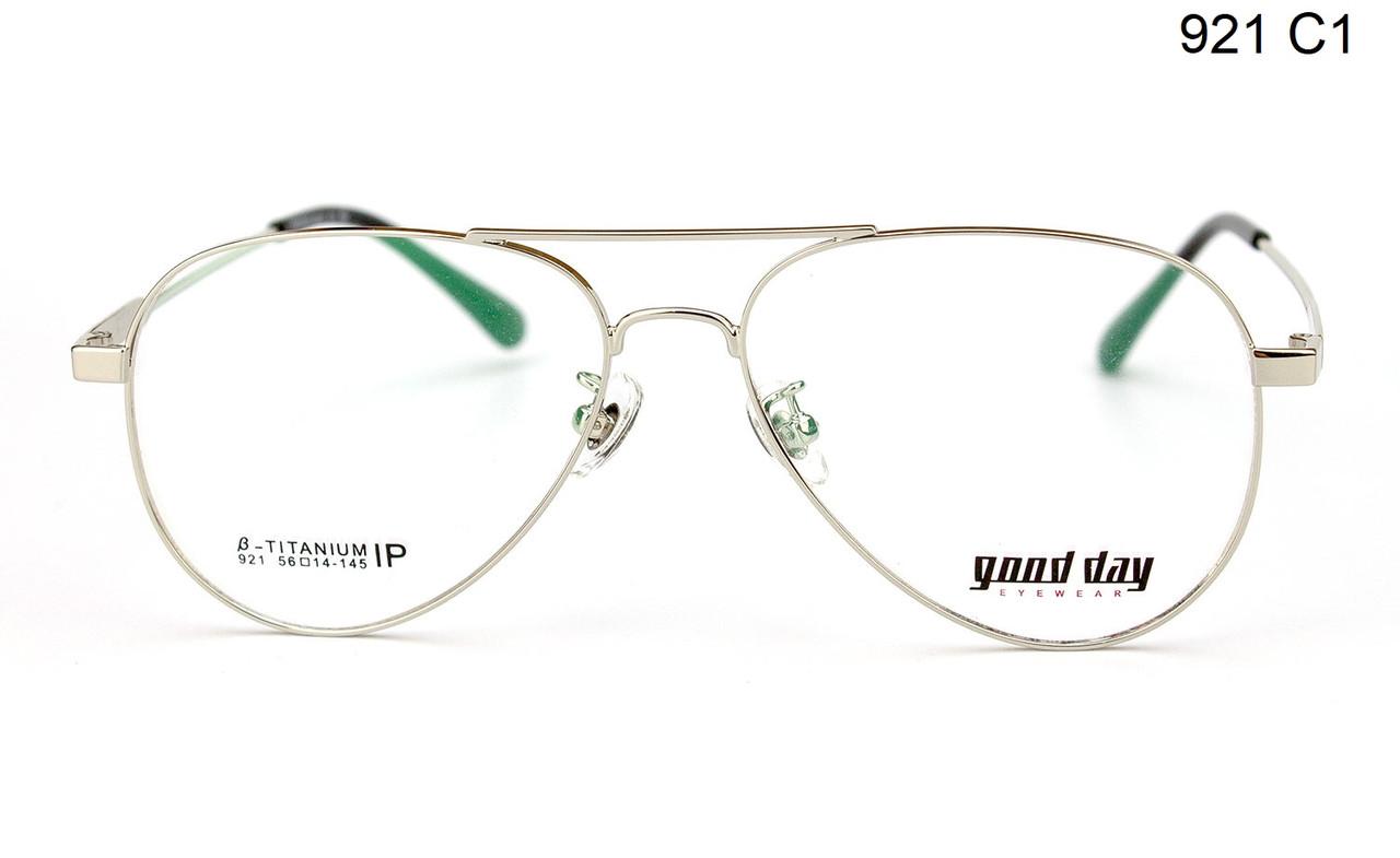 Титановая оправа для очков (можно вставить линзы)