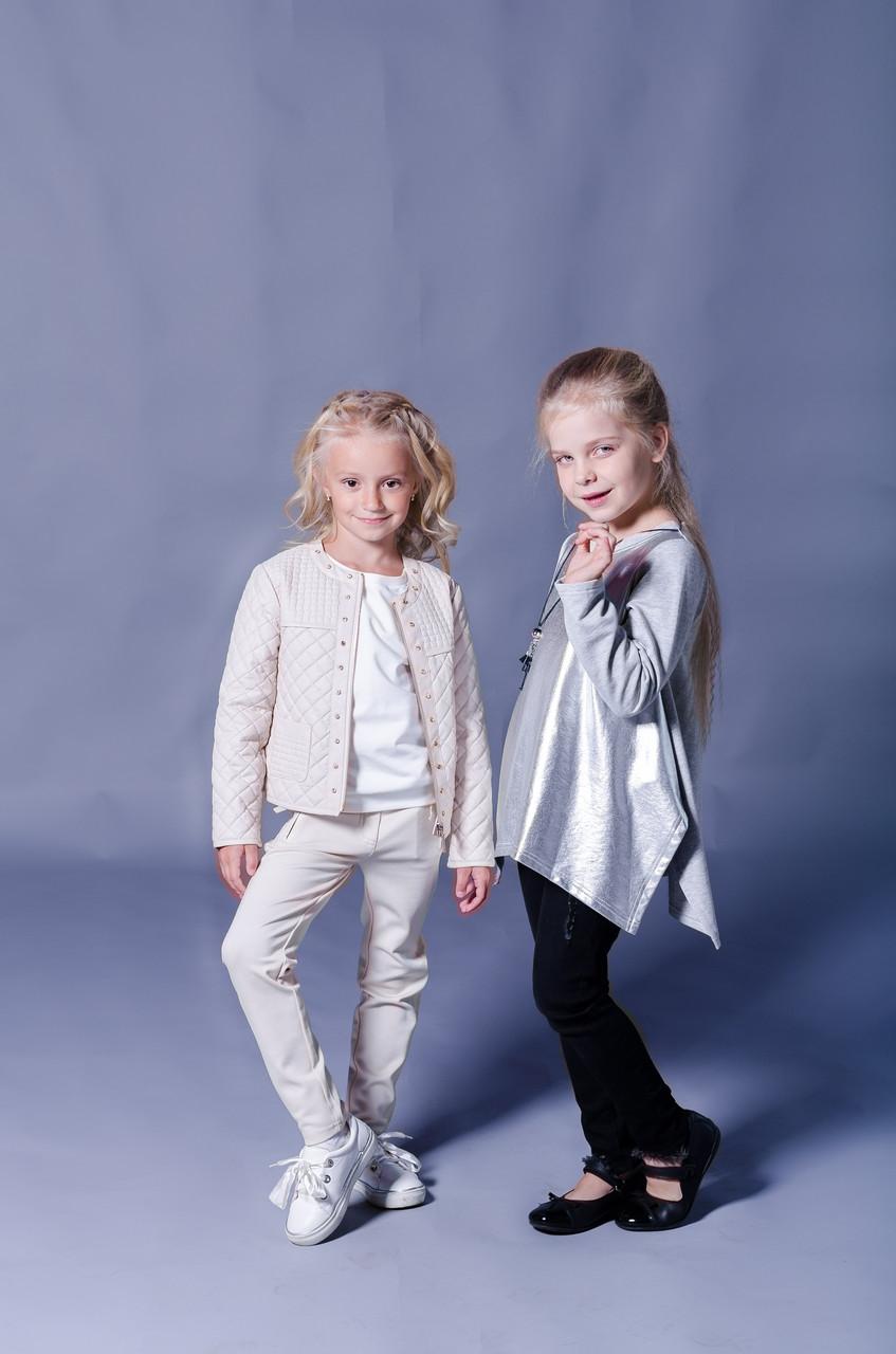 Детские брюки для девочки SILVIAN HEACH Италия EDBI6057PA Молочный