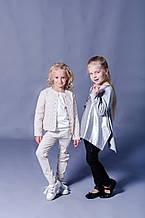 Дитячі штани для дівчинки SILVIAN HEACH Італія EDBI6057PA Молочний