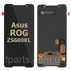 Дисплей для Asus ROG Phone (ZS600KL) с тачскрином, Black (Original PRC)
