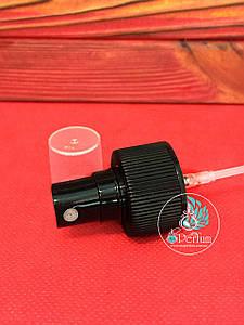 Кнопочный распылитель черный 28/410 (спрей, пульверизатор)