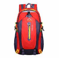 Спортивний червоний туристичний рюкзак для тренувань подорожей і туризму Sport рюкзак міський