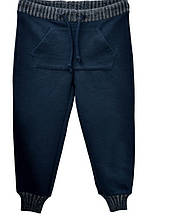 Детские спортивные штаны для мальчика ASTON MARTIN Италия AJBI6294PA Синий весеннии осенью демисезонные