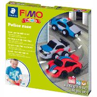 "Набор пластики Fimo kids ""Полицейские авто"" 4цв 42г Fimo"