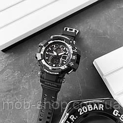 Чоловічий наручний годинник Casio G-Shock GW-A1100 Black-White кварцовий і електронний механізм