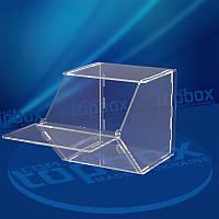 Прозрачный контейнер для пищевых продуктов 200x250x250 мм, объем 12,5 л.