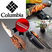 Охотничий нож Columbia, с рукоятью под кость, нескладные ножи, ножи для охоты и туризма