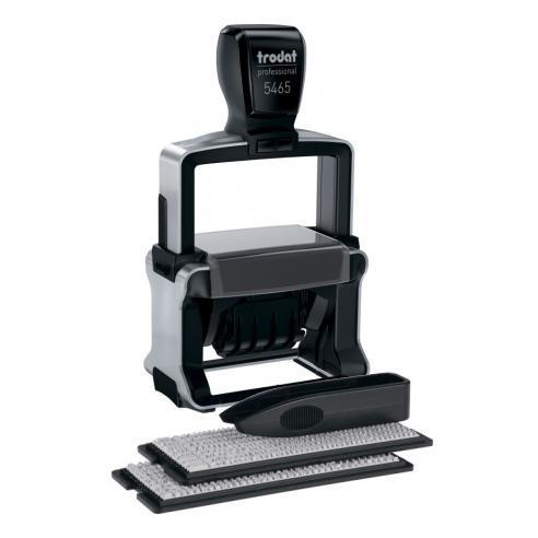 Самонаборный датер Trodat 5465 Professional, 4-х строчный