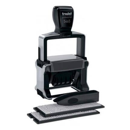 Самонабірний датер Trodat 5465 Professional, 4-х рядковий, фото 2