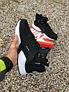 Кросівки чоловічі зимові Nike Huarachi acronym Black White Термо, фото 2