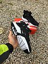 Кросівки чоловічі зимові Nike Huarachi acronym Black White Термо, фото 5