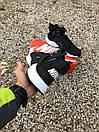 Кроссовки мужские зимние Nike Huarachi acronym Black White Термо, фото 3