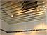 Реечный алюминиевый потолок Allux хром зеркальный - золото зеркальное комплект 400 см х 400 см, фото 2