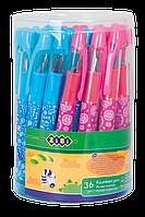 Ручка перова асорті туба Zibi (36)