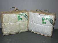 Одеяло пуховое Экопух 110х140см, 100% пуха (крем, белый)