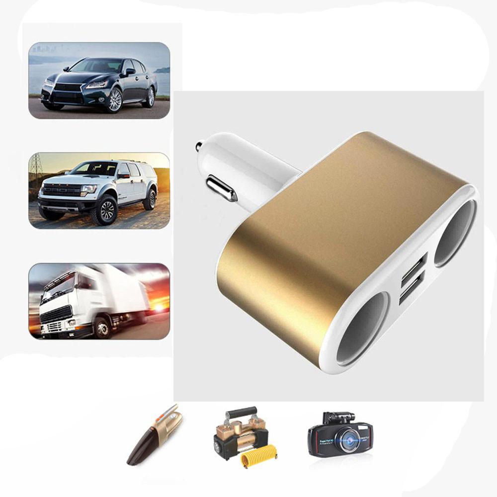 "Aвтомобильное зарядное устройство ""Fast Car Charge"" 4in1 2USB Port 3.1A 12-24v"
