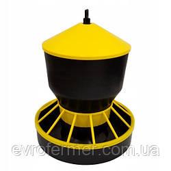 Годівниця бункерна для домашньої птиці, 6 кг