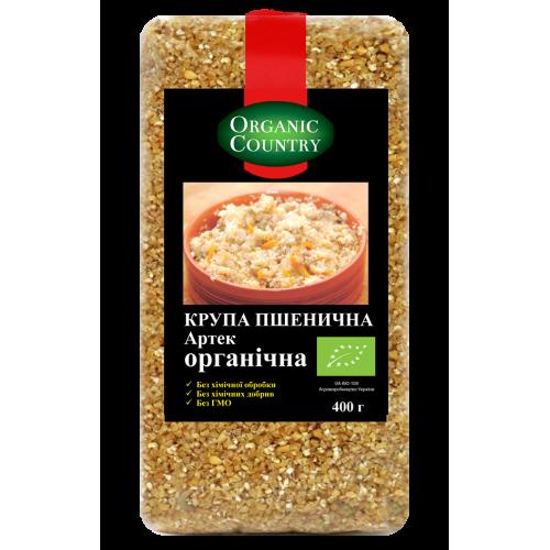 Крупа пшенична Артек ТМ NATURAL GREEN
