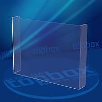 Захисне скло для магазину розміром 400x300 мм