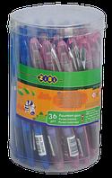 Ручка перова з вікритим пером туба*36 шт KIDS Line Zibi (18)